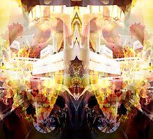 Wheel Of Dharma by David Avatara