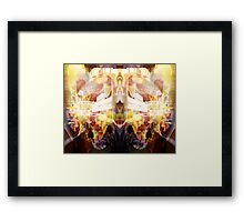 Wheel Of Dharma Framed Print