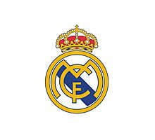 Real Madrid. Real. Soccer. Football. Team. Spain Photographic Print