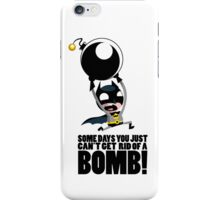 Bat-Bomb! iPhone Case/Skin