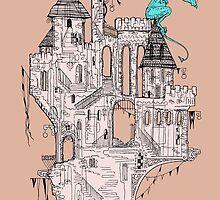 Dragon Perch by jessicagadra