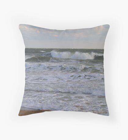 Ocean Layers Throw Pillow