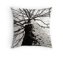 Tall Tree Throw Pillow
