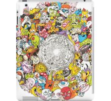 Toon Vortex circular design iPad Case/Skin