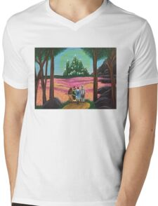Off to see the wizard Mens V-Neck T-Shirt