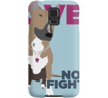 Roxy the Bull Terrier Samsung Galaxy Case/Skin