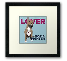 Roxy the Bull Terrier Framed Print