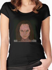 The Wish - Anyanka - BtVS Women's Fitted Scoop T-Shirt