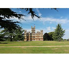 Highclere Castle a.k.a. Downton Abbey Photographic Print