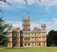 Highclere Castle a.k.a. Downton Abbey Sticker