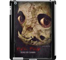 evil dead pug iPad Case/Skin
