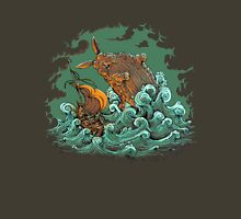 Sea Bunny Attack Unisex T-Shirt