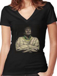 Helpless - Kralik - BtVS Women's Fitted V-Neck T-Shirt
