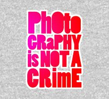 photography is not a crime 2.0 Hoodie