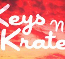 Keys N Krates Sticker