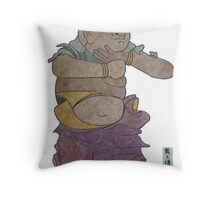 Attendant of Fudo Myo-O Throw Pillow