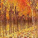 Treescape 3 by Rebecca Cozart