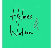 Holmes and Watson Photographic Print