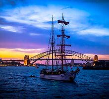 Glory of the Sydney Habour by Geeta Shyam
