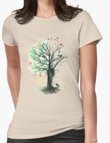 They Loved the Landscape to Death Womens Fitted T-Shirt