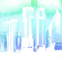 Dark city Sticker