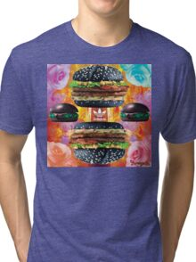 Health Goth Burger Tri-blend T-Shirt