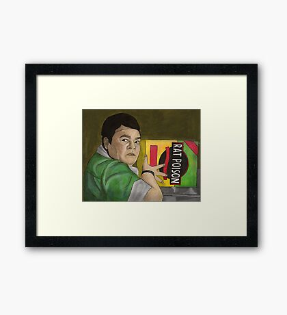 Earshot - Lunch Lady - BtVS Framed Print