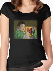 Earshot - Lunch Lady - BtVS Women's Fitted Scoop T-Shirt