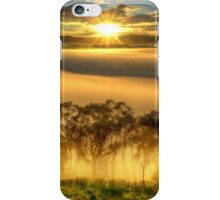 June sunrise, Ovens Valley iPhone Case/Skin