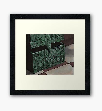 Choices - Box - BtVS Framed Print