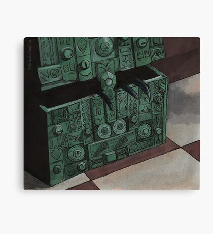 Choices - Box - BtVS Canvas Print