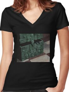 Choices - Box - BtVS Women's Fitted V-Neck T-Shirt