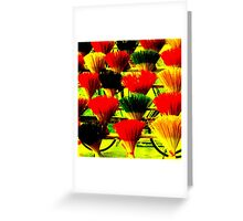 Incense Bouquets Greeting Card