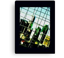 caged urbania Canvas Print