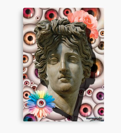 FLOWER OF THE EYES Canvas Print