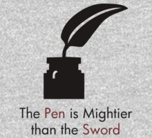 The Pen is Mightier than the Sword by Ryan Houston