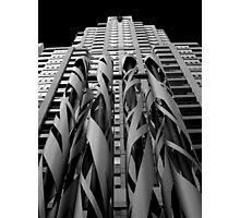 Sculpture and Condo Photographic Print