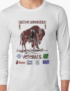 Native American Veterans Long Sleeve T-Shirt