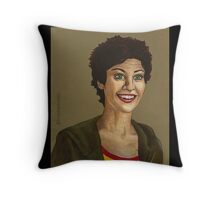 Living Conditions - Kathy Newman - BtVS Throw Pillow