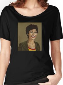 Living Conditions - Kathy Newman - BtVS Women's Relaxed Fit T-Shirt