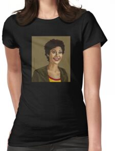 Living Conditions - Kathy Newman - BtVS Womens Fitted T-Shirt