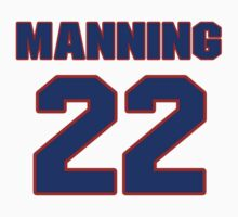 National football player Wade Manning jersey 22 by imsport