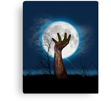Up from the Grave Canvas Print