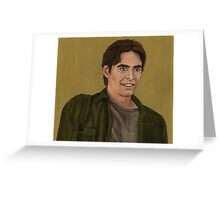 The Harsh Light of Day - Parker Abrams - BtVS Greeting Card