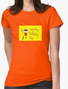 Ship Ahoy Birthday Boy Womens Fitted T-Shirt