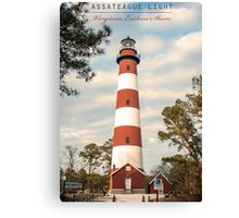 Assateague Light. Canvas Print