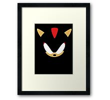 Minimalist Shadow Framed Print