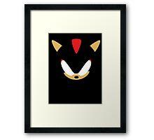 Minimalist Shadow Framed Print