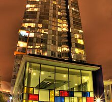 Mondrian Tower by John Heil