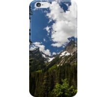 Towering Mountain Peaks in the Pacific Northwest iPhone Case/Skin